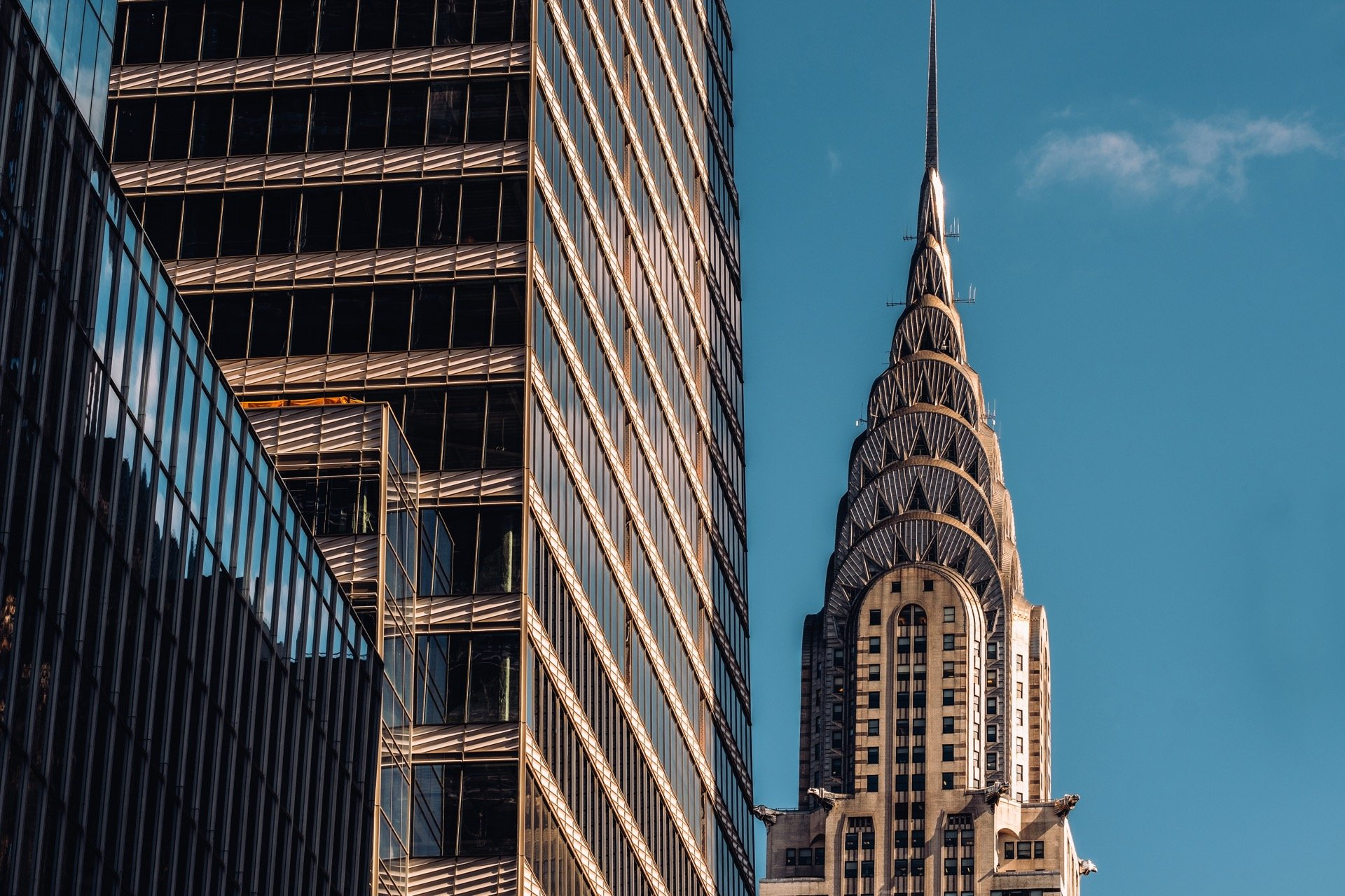 Stainless steel Chrysler building